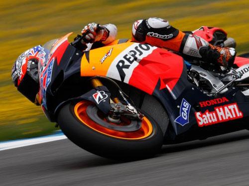 Casey Stoner Test 1000cc Jerez