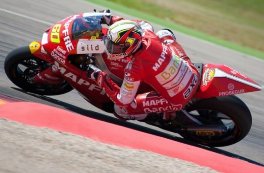 Julian Simon J2 essais Moto2 Aragon Mai 2011
