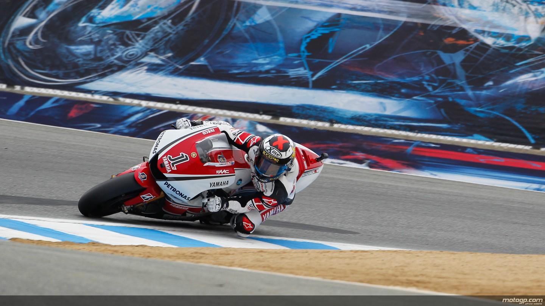 Jorge Lorenzo Yamaha Factory Racing Laguna Seca QP