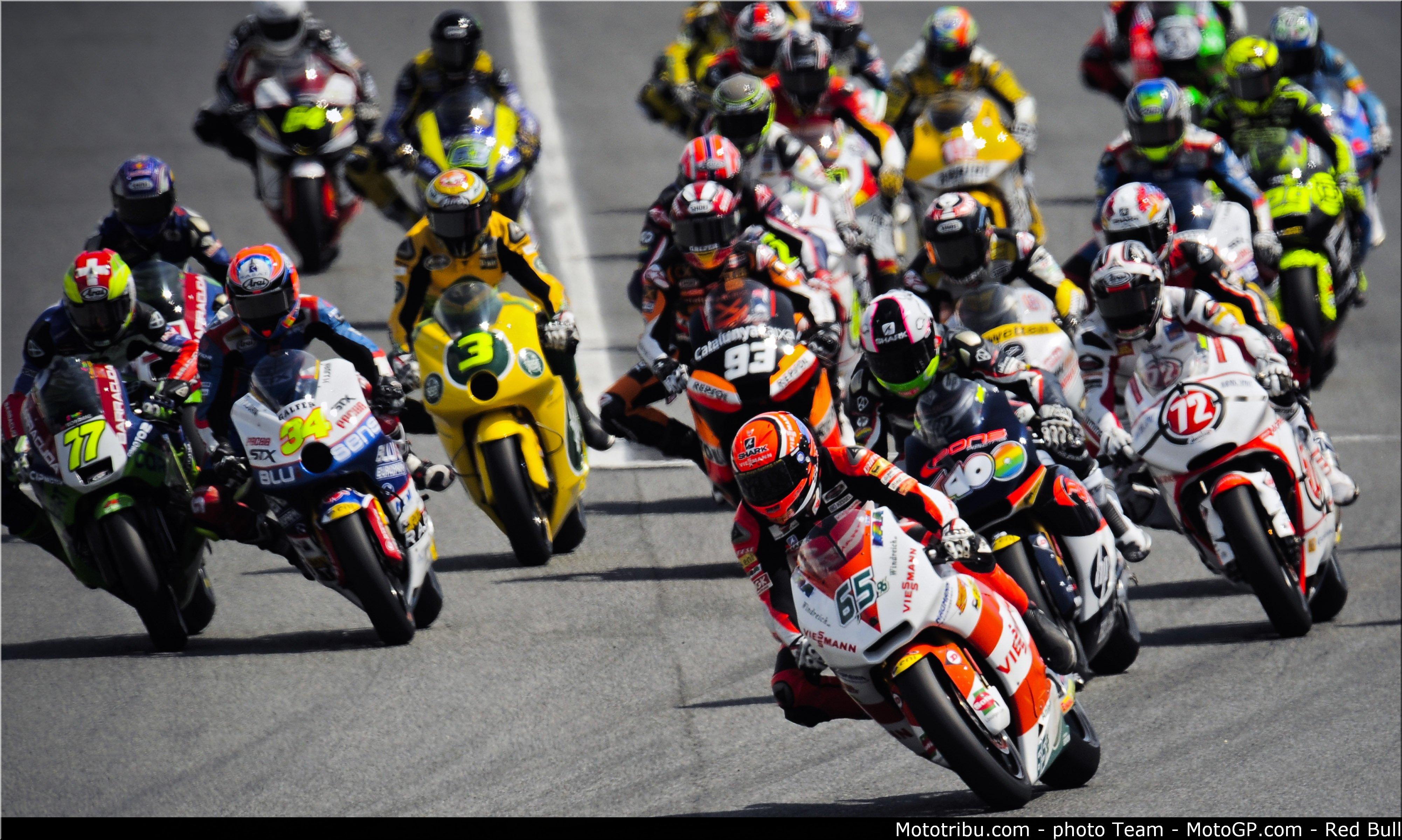 départ Moto2