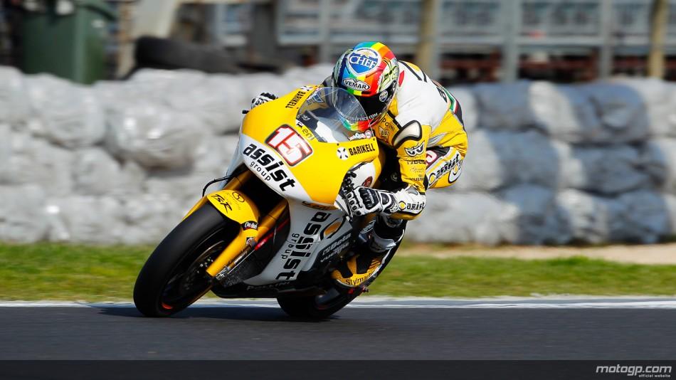 Alex de Angelis JiR Moto2 Phillip Island