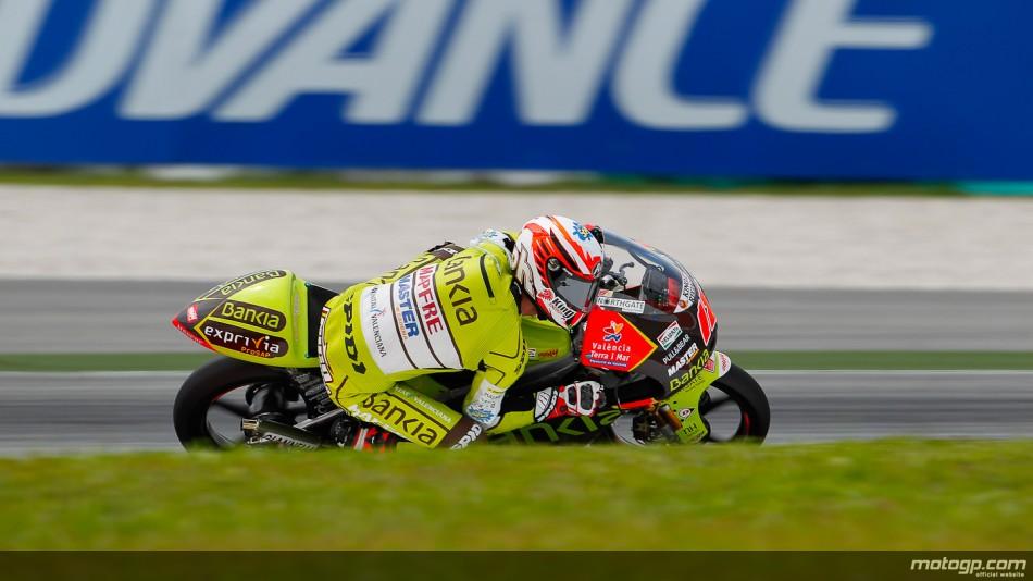 Nico Terol Bankia Aspar Team 125cc Sepang QP