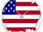Horloge-drapeau-americain