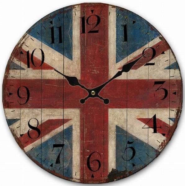 horloge angle