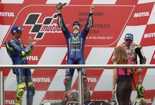podium argentine
